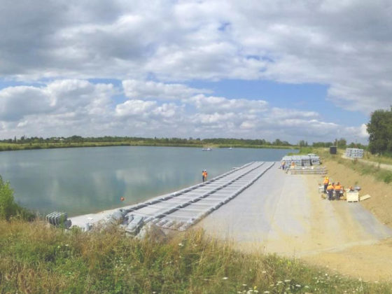 centrale solaire flottante haute-Garonne