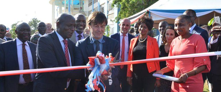 Urbasolar and Kenyatta University inaugurate a solar power plant at